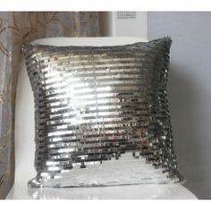 Shine Sequins Squamous Fish Scale Cushion Cover