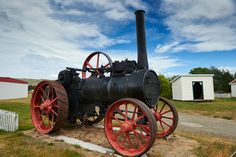 Very early engine Steam Engine, New Zealand, Tractors, Cable, Engineering, Australia, Sea, Park, Cabo