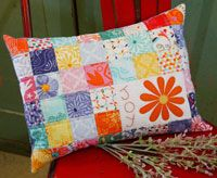 Fresh as a Daisy by Jen Daly in Best Fat Quarter Quilts 2014.