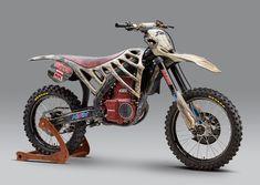 Mugen E.Rex Electric Motocrosser/Dinosaur Motorcross Bike, Motocross Racing, Sidecar, Custom Motorcycles, Custom Bikes, Mv Agusta F4, Electric Dirt Bike, Electric Vehicle, Honda