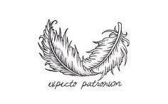 Harry Potter Tattoo Idea (though I think --- should be written under the feather) : http://www.tattooideascentral.com/?p=54714/