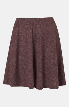 Topshop 'Andie' Skater Skirt available at #Nordstrom