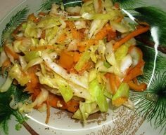 Steamed Cabbage and Carrot Make and share this Jamaican Steamed Cabbage and Carrot recipe from .Make and share this Jamaican Steamed Cabbage and Carrot recipe from . Cabbage And Carrot Recipe, Carrot Recipes, Cabbage Recipes, Vegetable Recipes, Vegetarian Recipes, Cooking Recipes, Healthy Recipes, Oven Recipes, Veggies