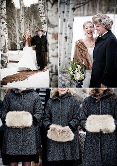 Lake Tahoe Winter Wedding Inspiration | Wedding Photography by Viera Photographics and Design by Scott Corridan via TahoeUnveiled.com #LakeTahoeWeddings