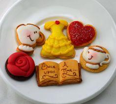 Princess Belle Cookie set for American Girl by StaceyMorganStudios, $11.95