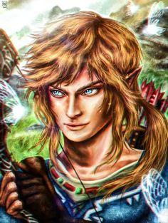 Link- Legend of Zelda Wii U by vanikachan on DeviantArt