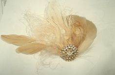 Check out this item in my Etsy shop https://www.etsy.com/listing/174846722/bridal-hair-clip-wedding