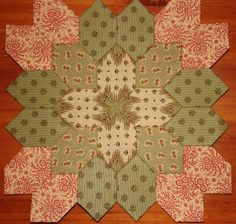 Stitches and Sew On -- English Paper Piecing