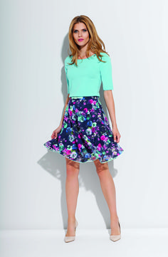 there is an easy and light skirt, hello spring