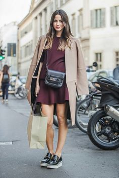 HER NEW TRIBE #style #fashion #burgundy