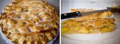 Americký jablkový koláč (Apple Pie) Apple Pie, Tart, Yummy Food, Desserts, Recipes, Basket, Tailgate Desserts, Deserts, Pie
