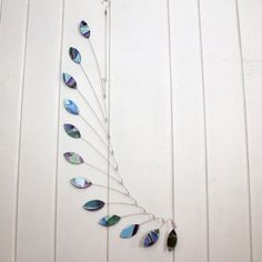 Hanging Mobile for the Corner of a Room.  Customized to fit your decor by SkysetterArtMobiles, $89.00 - Free Shipping Included