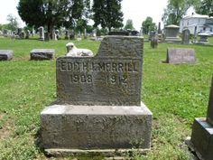 4 years old  Utica Cemetery  Utica, Ohio
