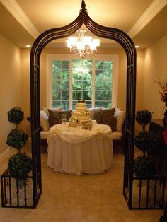 At home wedding vow renewal idea