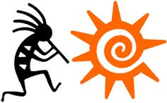 sun kokopelli design...I like the sun!