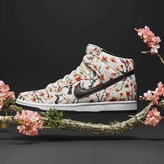 — Nike SB Dunk High PRM 'Cherry Blossom' - Order...                                                                                                                                                                                 More