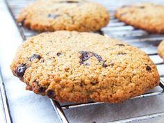 Cookies med sjokoladebiter; Sukkerfri og grove