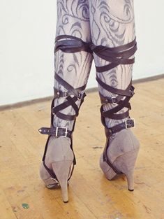 Short Hydrogen Spats by Xenolux on Etsy