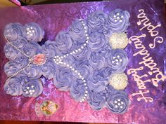 Sofia the First pull apart cake