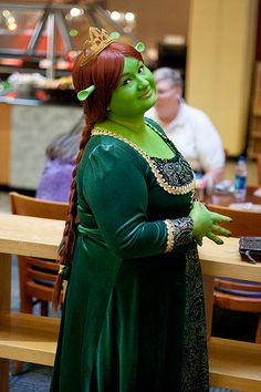 Princess Fiona cosplay gown for sale on Etsy.
