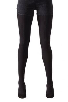 Cable Twist Tights by Gipsy. Free UK Delivery available. Opaque Tights, Black Tights, Black Jeans, Fashion Tights, Sexy Stockings, Tight Leggings, Winter Wardrobe, Free Uk, Hosiery