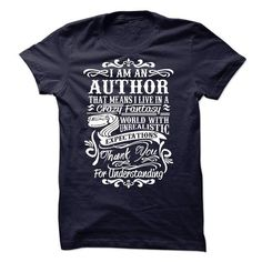 I am an author T Shirts, Hoodie. Shopping Online Now ==►…