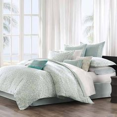 Echo Mykonos Bedding By Echo Bedding, Comforters, Comforter Sets, Duvets, Bedspreads, Quilts, Sheets, Pillows: The Home Decorating Company
