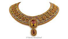 La Collana della Marchesa : Manek-Manek Beads - Jewelry   Kits   Beads   Patterns