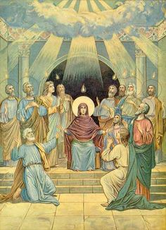 pentecost before holy spirit