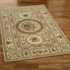 Harmony Border Wool Area Rugs Victorian Fl Bedspread And