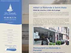 Venez séjourner ou bien vous restaurer à l'hôtel restaurant La Rotonde à Saint-Malo