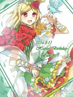 Happy birthday Fuwari!!