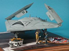 scalespot.com - On The Bench - Freedom Models 1/48 X-47B UCAS Build Review (FD18001)