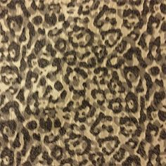 f21912e578 Elsie Hughes Charcoal and Gold Animal Print Upholstery Fabric