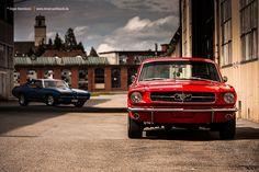 1965 Ford Mustang & 1968 Pontiac GTO