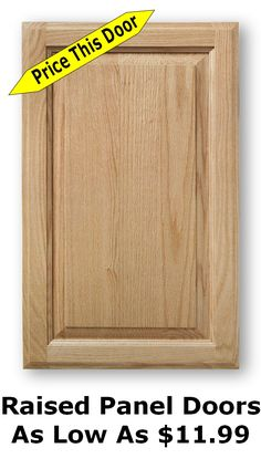 [ Quality Kitchen Unfinished Cabinet Doors Low Houston Improvements Refference And Drawers ] - Best Free Home Design Idea & Inspiration Cheap Cabinet Doors, Unfinished Cabinet Doors, New Kitchen Cabinet Doors, Raised Panel Cabinet Doors, Types Of Kitchen Cabinets, Unfinished Kitchen Cabinets, Shaker Cabinet Doors, Cheap Cabinets, Cabinets For Sale