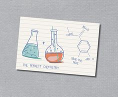 Science, Chemistry, Save the Date #geekery #nerds LOVE IT!!