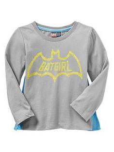 Junk Food™ Batgirl t-shirt with cape