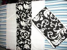 Easy Burp Cloth Tutorial!!!