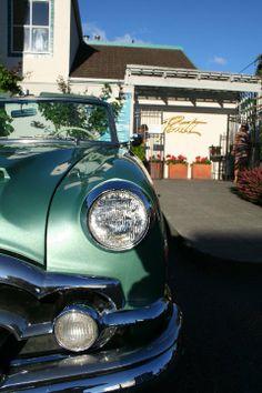 Beautiful Classic Car at Ponti Seafood Grill, Seattle