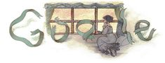 Google Doodle: Gustave Flaubert
