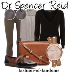 """Dr. Spencer Reid"" by fofandoms on Polyvore"