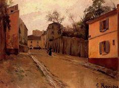 Santiago Rusiñol i Prats ~ Modernist/Symbolist painter Spanish Painters, Spanish Artists, Modern Artists, Great Artists, Pablo Picasso Cubism, Art Nouveau, Old Master, Master Art, European Paintings