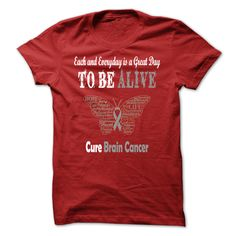 #faith #god #husband #jesus #wife... Awesome T-shirts  Cure Brain Cancer . (Cua-Tshirts)  Design Description: Are you or someone you love affected by Brain Cancer that you would like to recognize and honor for their tremendous strength and courage? Wear yours with pride as you help spread...