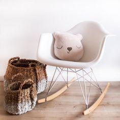 Amazon.de: Eames Schaukelstuhl Für Kinder, Baby Möbelstück Im Retro Design