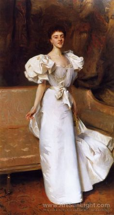 """Countess Clary Aldringen (Therese Kinsky)"" - John Singer Sargent,1896"