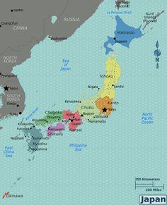 Japan's Regions