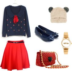 """""""New Girl"""" by naiaraparraferre on Polyvore"""