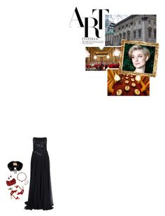 """(V) Attends a dinner and concert to support the London Chamber Orchestra at Goldsmiths' Hall"" by immortal-longings ❤ liked on Polyvore featuring Elie Saab, Van Cleef & Arpels, Gianvito Rossi, Judith Leiber, Tiffany & Co. and Burberry"