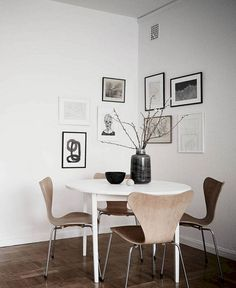 Excellent Gorgeous Minimalist Home Decor Ideas www.futuristarchi… The post Gorgeous Minimalist Home Decor Ideas www.futuristarchi…… appeared first on Mane Decorations . Minimalist Dining Room, Minimalist Apartment, Minimalist Home Decor, Minimalist Interior, Apartment Interior, Home Interior, Interior Design, Parisian Apartment, Apartment Layout